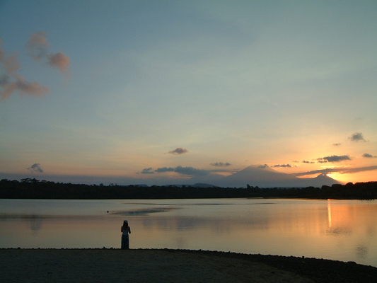 Sunset at Menjangan