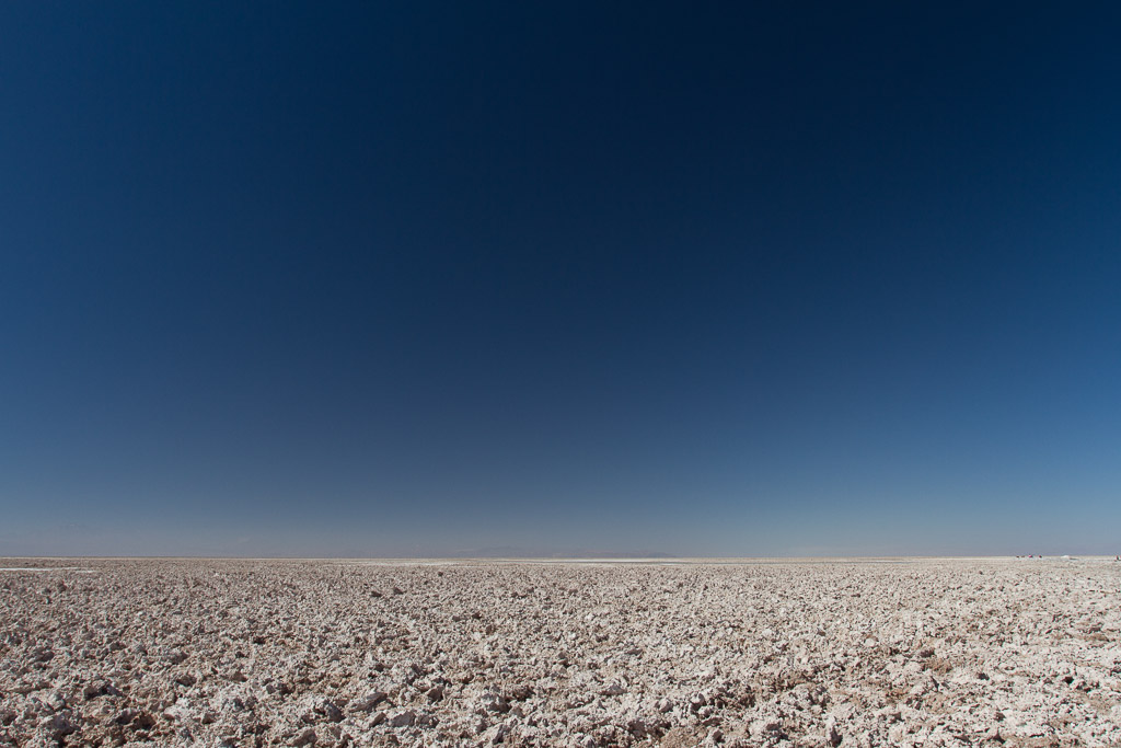 Salt crust, Atacama desert, Chile