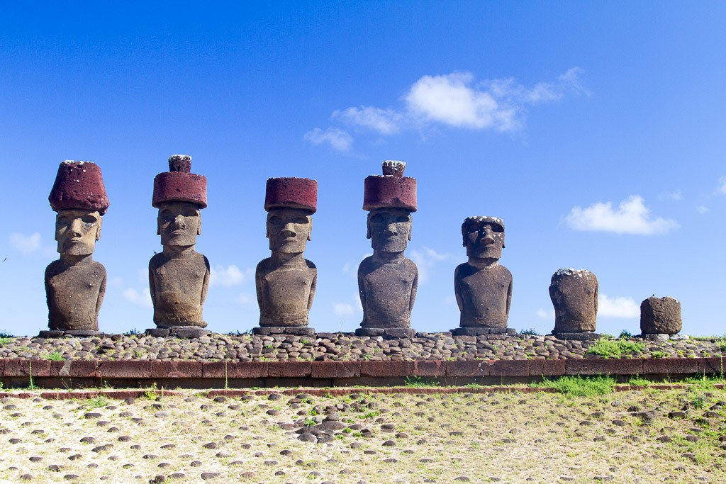 Anakena, Easter Island, Chile