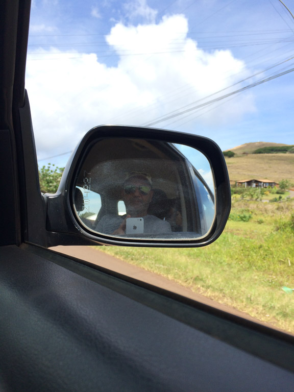Cruising Easter Island