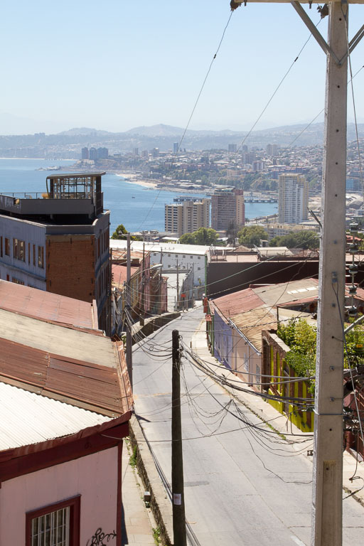 Hill, Valparaiso, Chile
