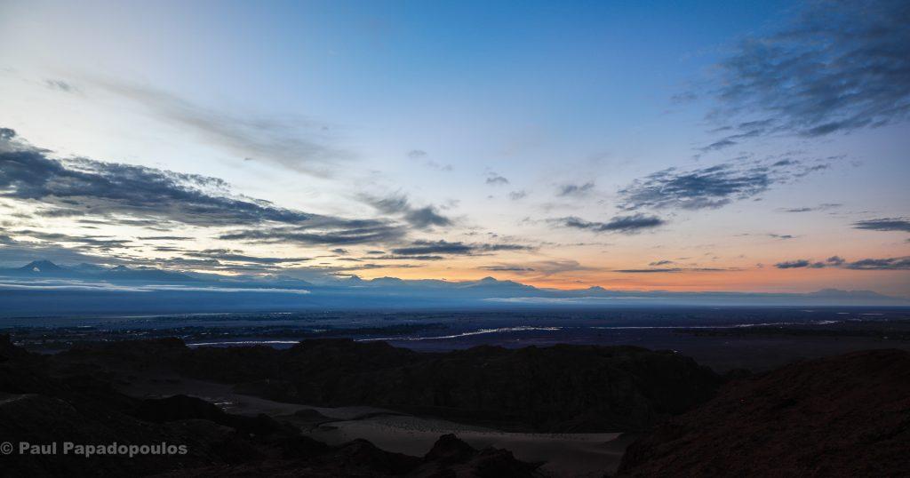 Dawn over SPA - San Pedro de Atacama. Chile