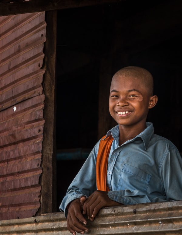 What a smile, Kampong Khleang, Cambodia