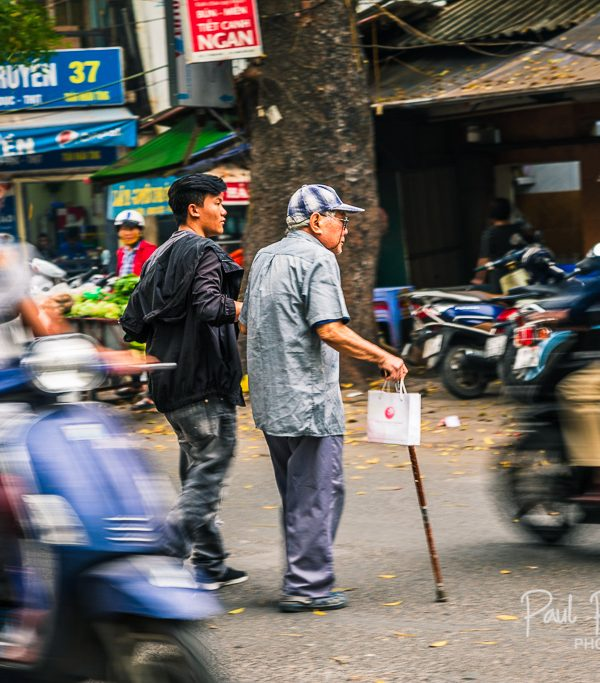 Random act of kindness  - Hanoi, Vietnam