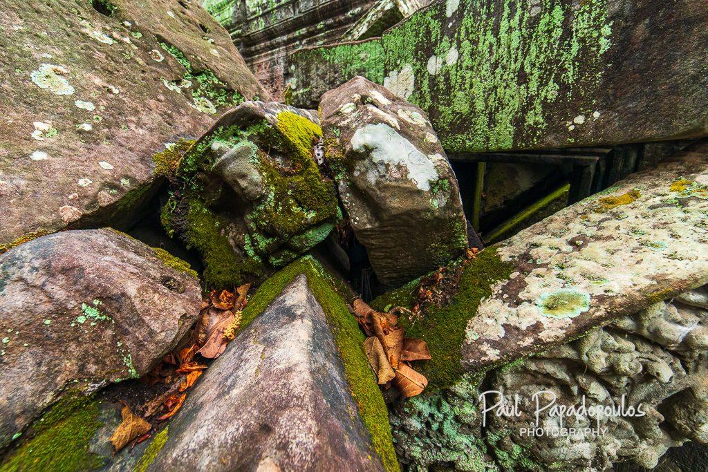 Fallen face - Ta Phrom, Siem Reap, Cambodia