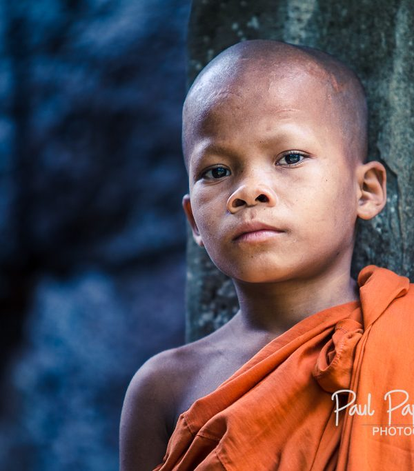 Young monk at Koh Ker - Koh Ker, Cambodia