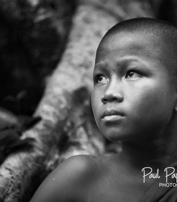 Young monk at Koh Ker
