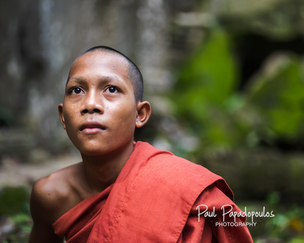Young monk at Banteay Ampil