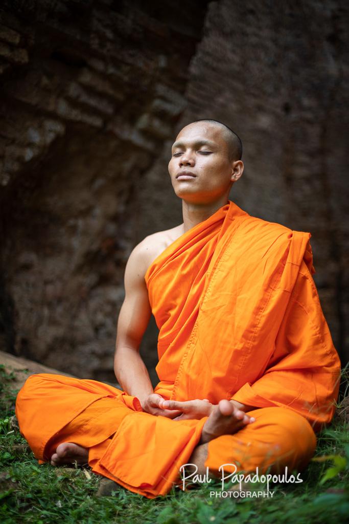 Meditation - Prasat Sambor, Siem Reap - Cambodia