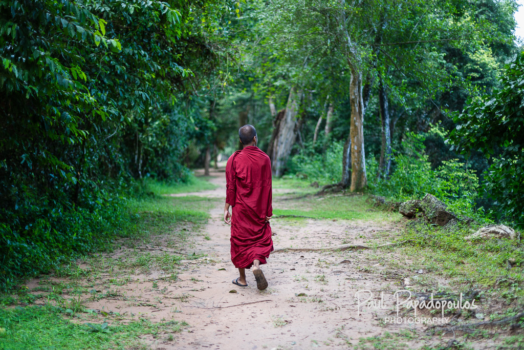 Walking around Angkor Thom - Victory Gate, Angkor Thom, Siem Reap - Cambodia