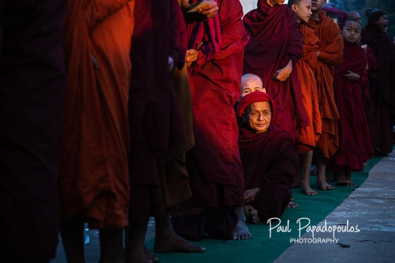 Sneaking a rest - Ananda Festival - Bagan, Myamnmar