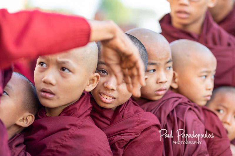 Peekaboo - Ananda Festival - Bagan, Myanmar