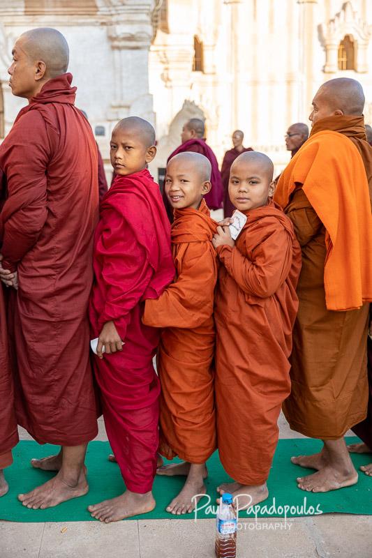 Big smiles - Ananda Festival - Bagan, Myanmar